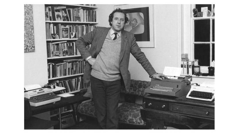 Writer Malcolm Bradbury by Monire Childs;