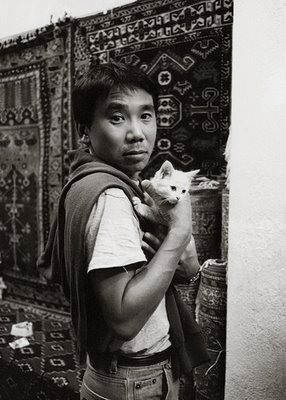 murakami-and-kitten