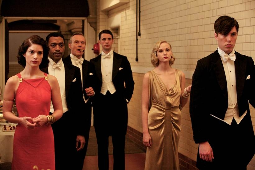 Television Programme: Dancing on the Edge with Janet Montgomery as Sarah, Chiwetel Ejiofor as Louis Lester, Anthony Head as Donaldson, Mathew Goode as Stanley, Joanna Vanderham as Pamela and Tom Hughes as Julian.